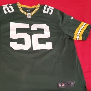 NFL Greenbay Packers Clay Matthews jersey 3XL